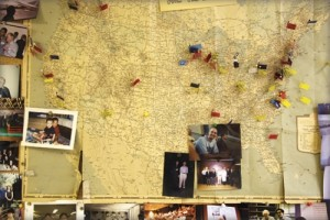 Map with Pins and Photos